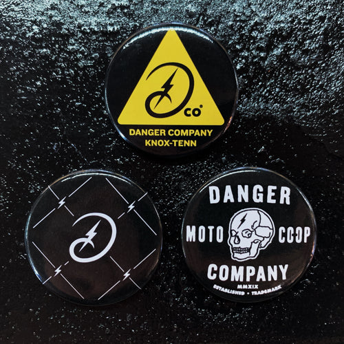 Danger Company 3 Button Set