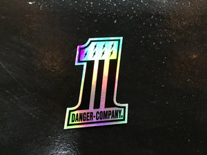 Danger 1-Year Anniversary Sticker