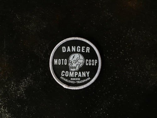 Danger Co. Circle Skull Patch