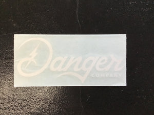 Danger Company Small Decal