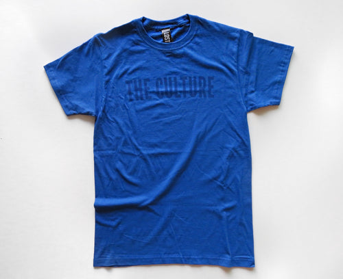 THE CULTURE TEE - ROYAL