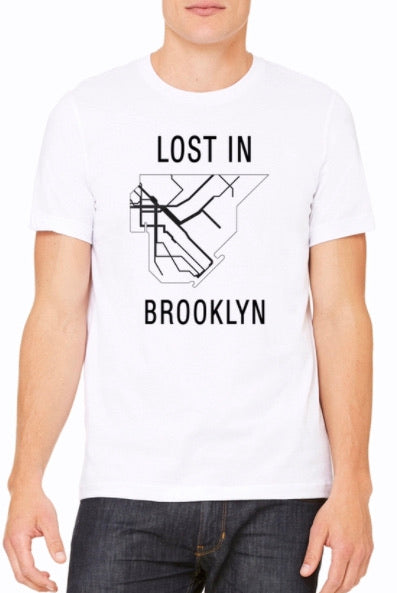 Stay connected to everything Brooklyn has to offer in our classic LOST IN BROOKLYN tee reppin' all subway lines leading to the major hubs, and neighborhoods in Brooklyn!