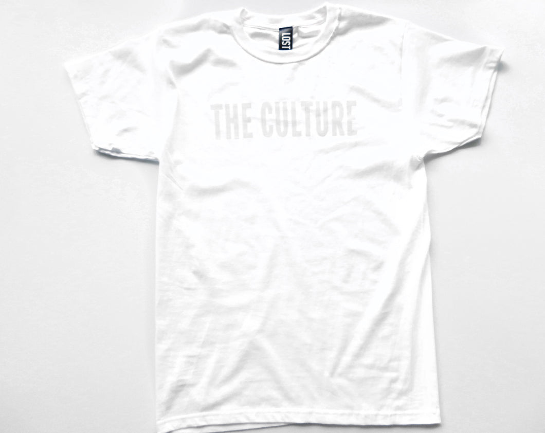 THE CULTURE TEE - WHITE