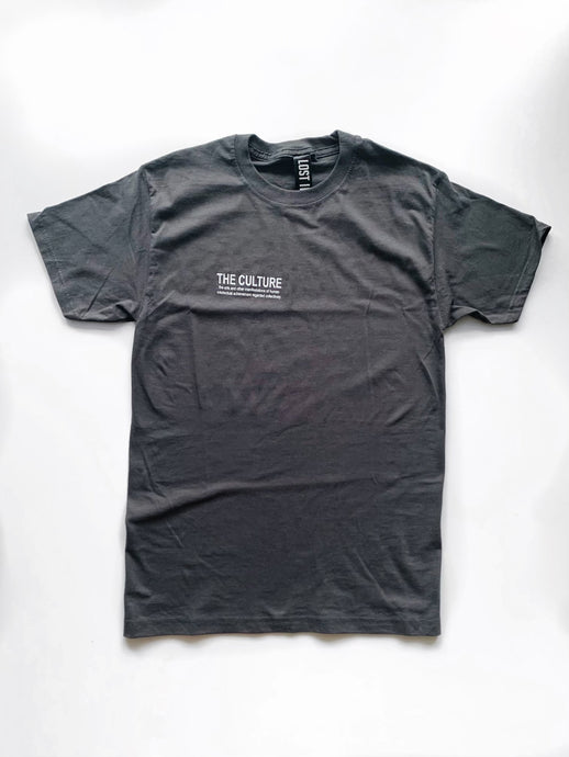 EARTH COLLECTION CLASSIC T-SHIRT - CHARCOAL