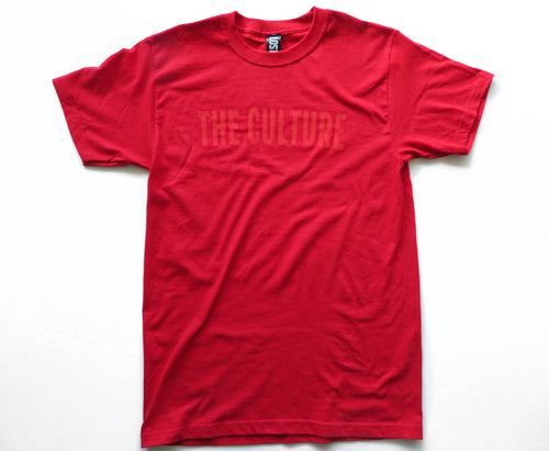 THE CULTURE TEE - RED