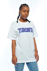 LOST IN TORONTO COORDINATES TEE - WHITE