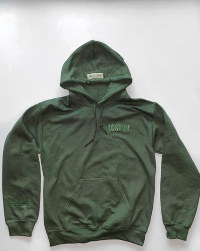 EARTH COLLECTION HOODIE - MOSS