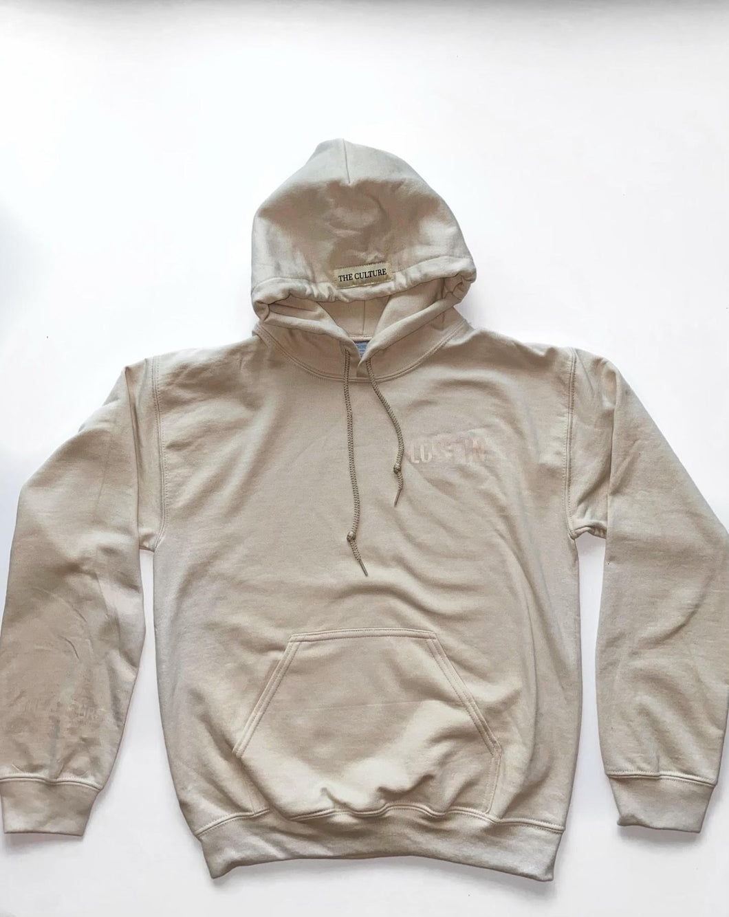 EARTH COLLECTION HOODIE - SAND