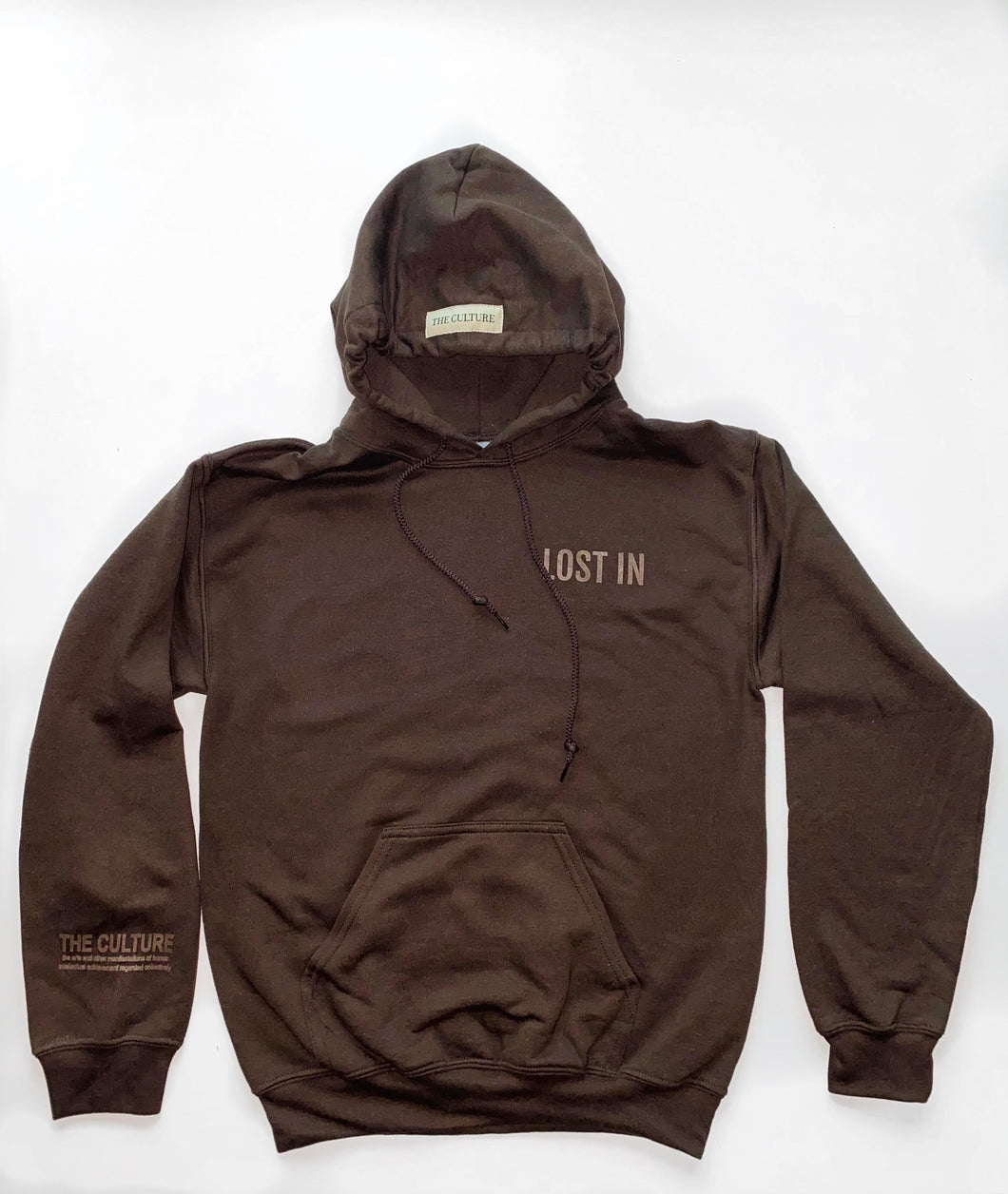 EARTH COLLECTION HOODIE - ESPRESSO