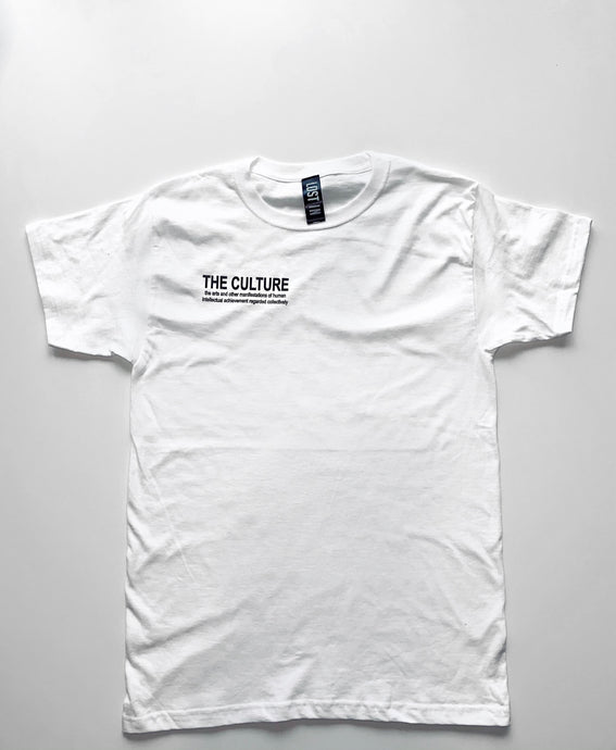 EARTH COLLECTION CLASSIC T-SHIRT - WHITE