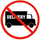 No fresh flowers delivery
