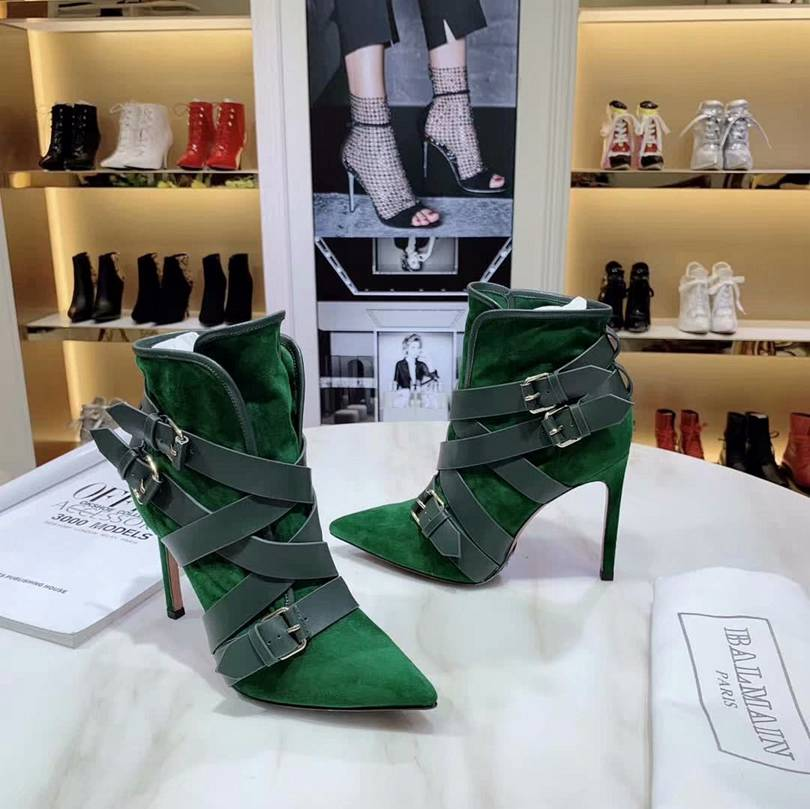 Green Luxury Booties
