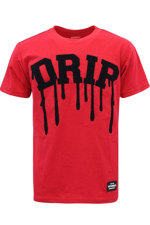 Drip Red Graphic T-Shirt