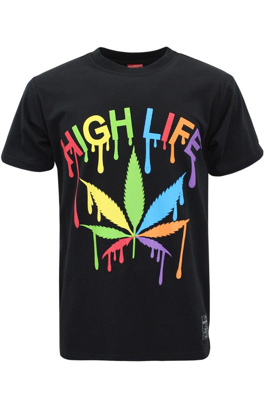 High 4 Life  Graphic T-Shirt