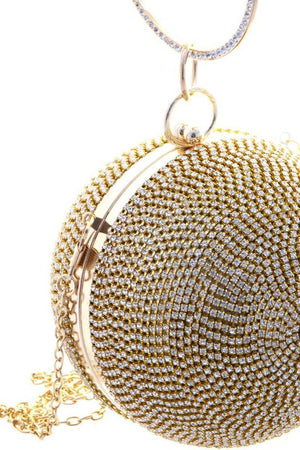 Gold & Black Bling Ballin Bag