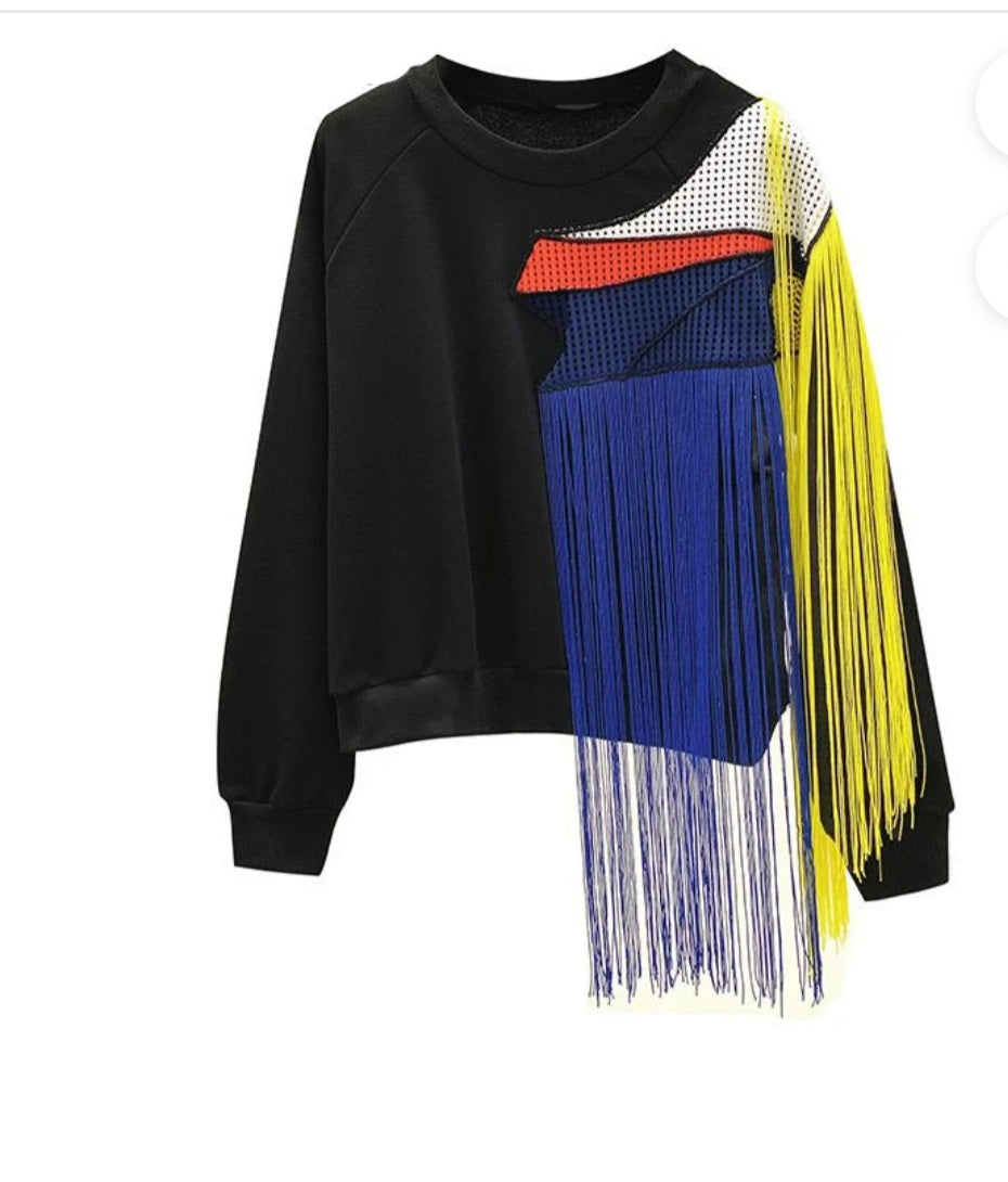 Luxury Tassel Sweater #1