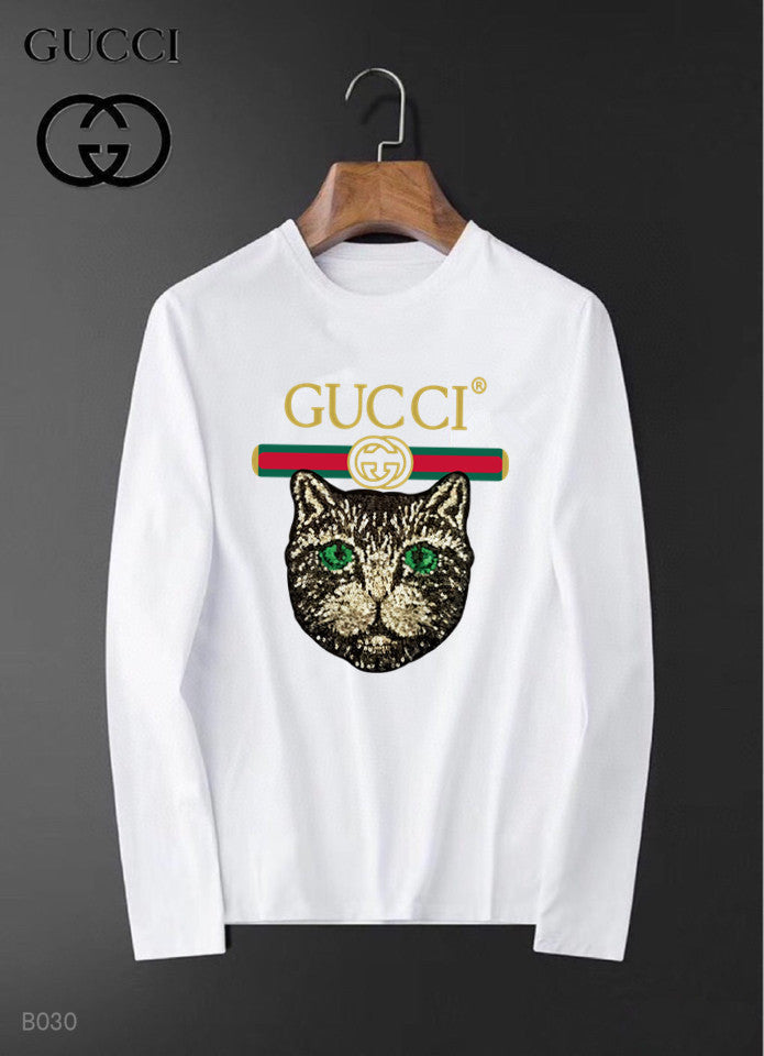 GG Logo Long Sleeve Shirt #3