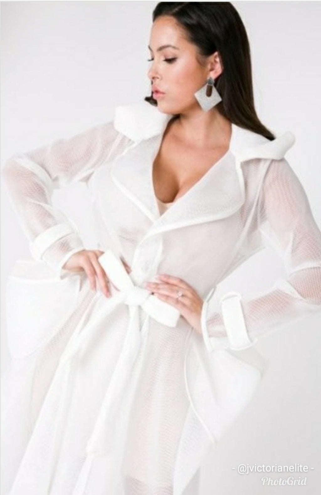 Misty White Jasmine Jacket