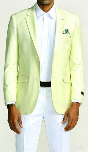 Men's Light Lime Blazer