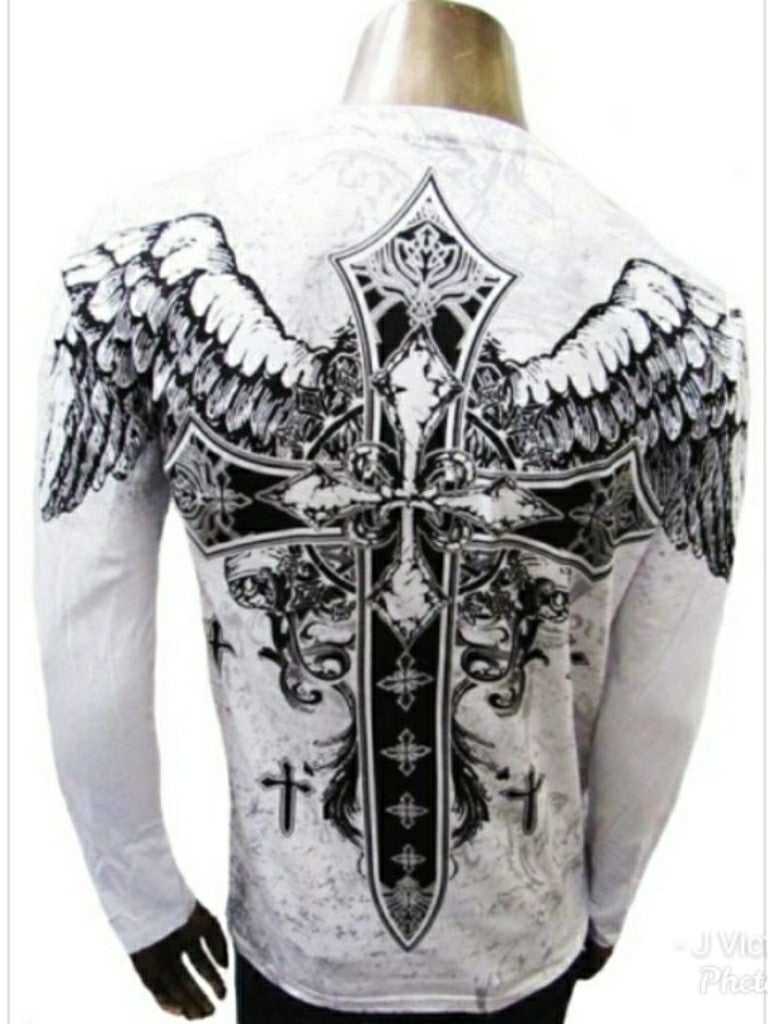 White Wings Graphic T-Shirt