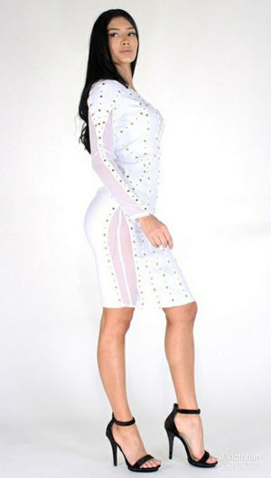 White Dollhouse Dress