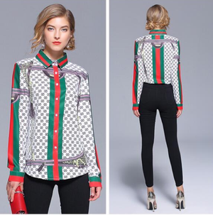 Gucci Button Down Blouse
