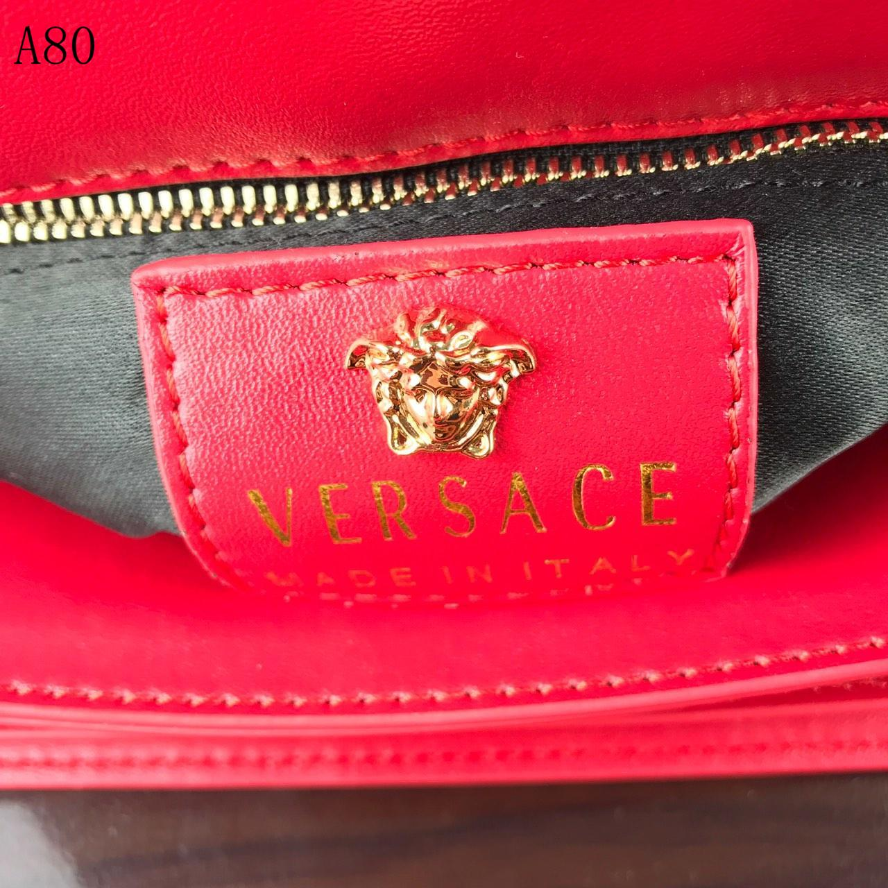 V Red Designer Handbag #53