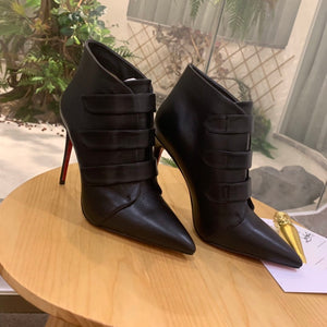 Christian Louboutin Bootie (Red Bottoms)