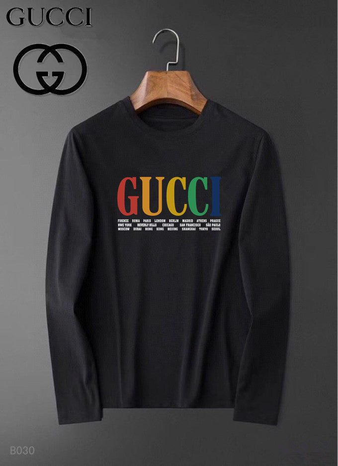 GG Logo Long Sleeve Shirt #78