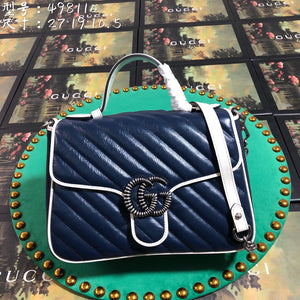 GG Navy Blue Bag #4