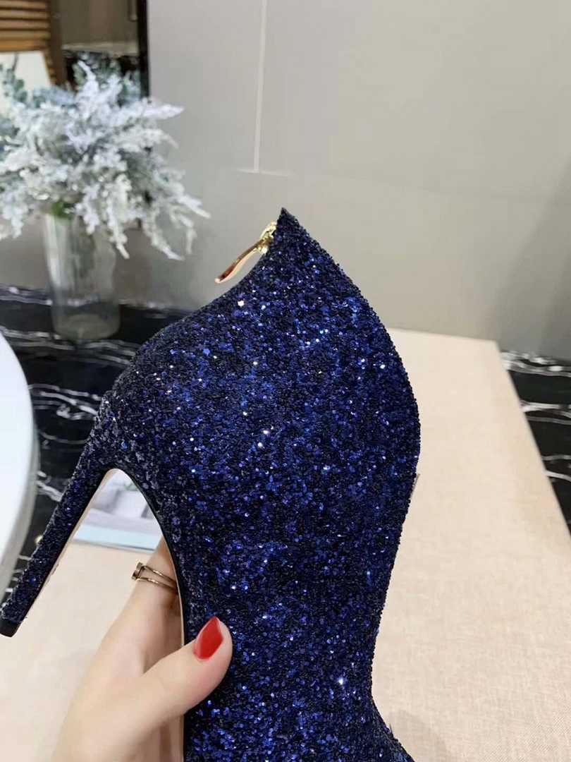 Jimmy Choo (blue)