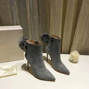 Jimmy Choo (Grey booties)
