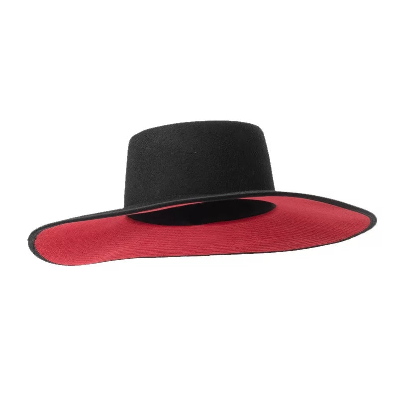 Red Bottom Hat