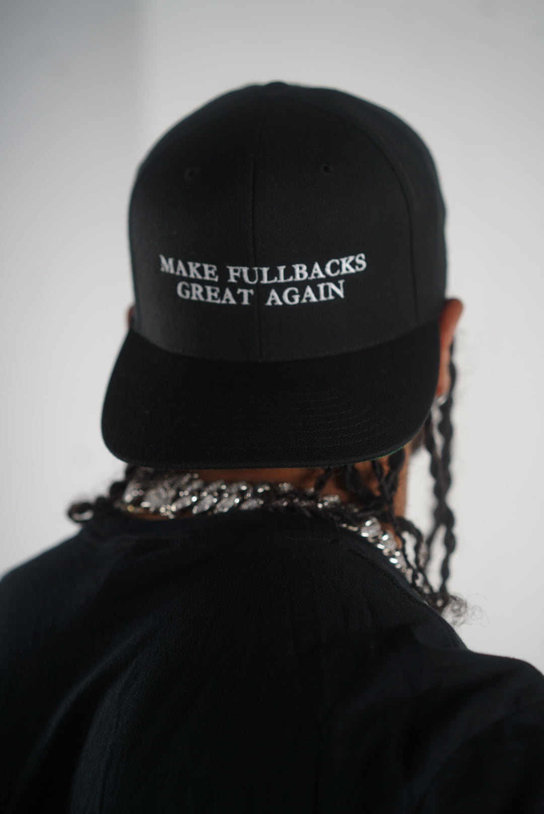 MFGA Black Snap Back-Make Fullbacks Great Again by Keith Smith