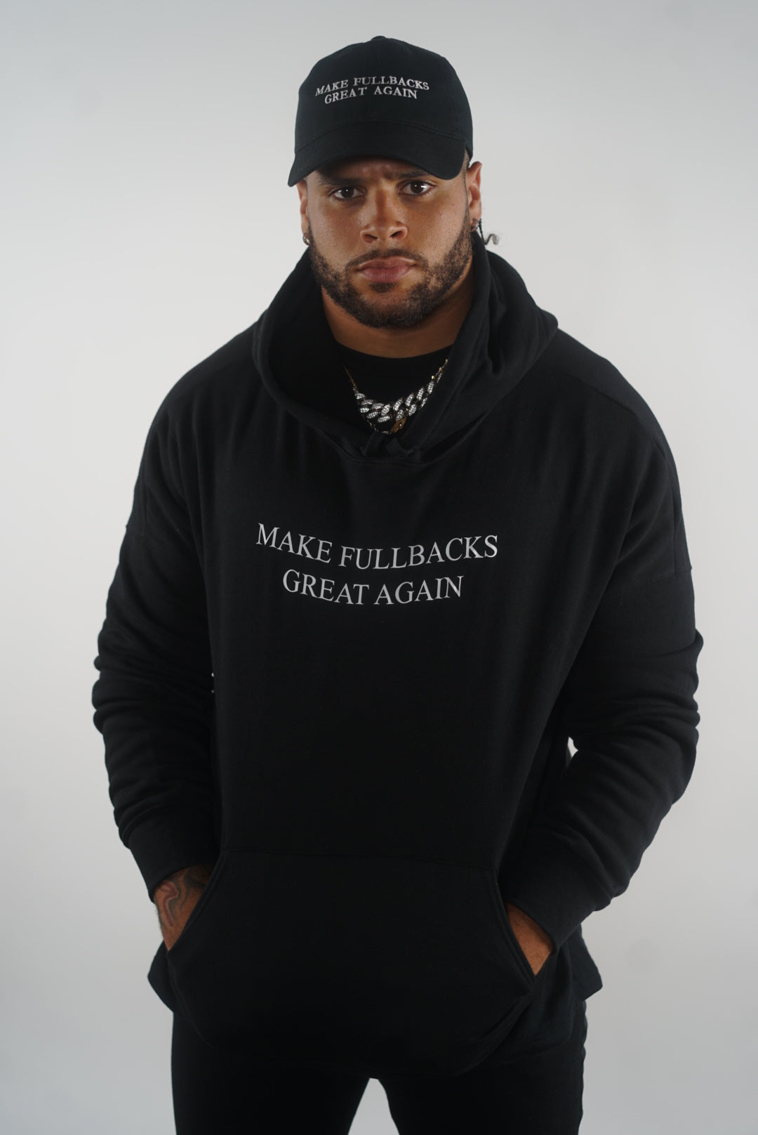 MFGA Black Hoodie-Make Fullbacks Great Again by Keith Smith