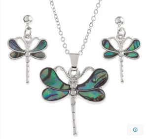 Green Dragonfly Set