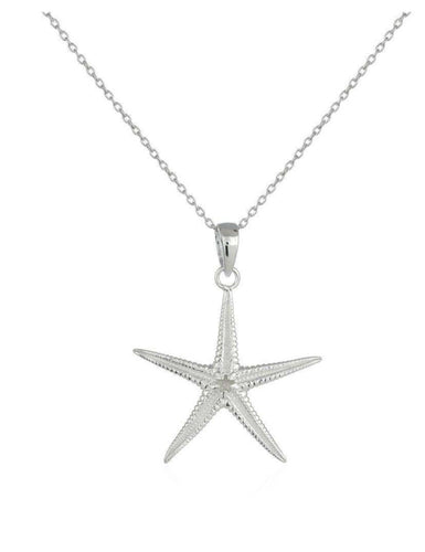 Detailed Starfish Pendant