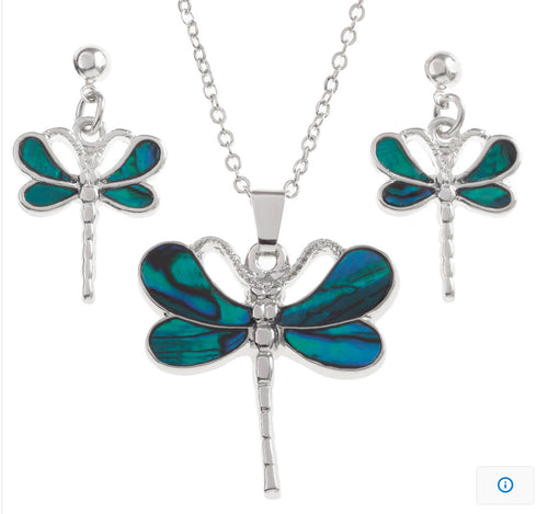 Blue Dragonfly Set