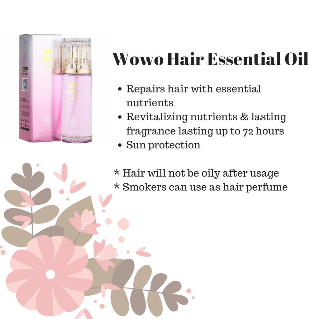 Wowo Essential Hair Oil