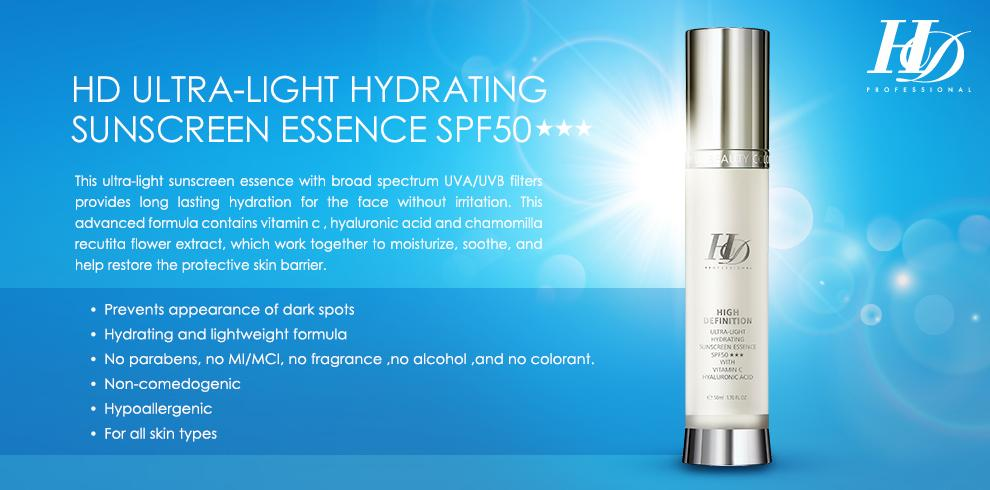 Ultra Light Sunscreen Essence SPF 50