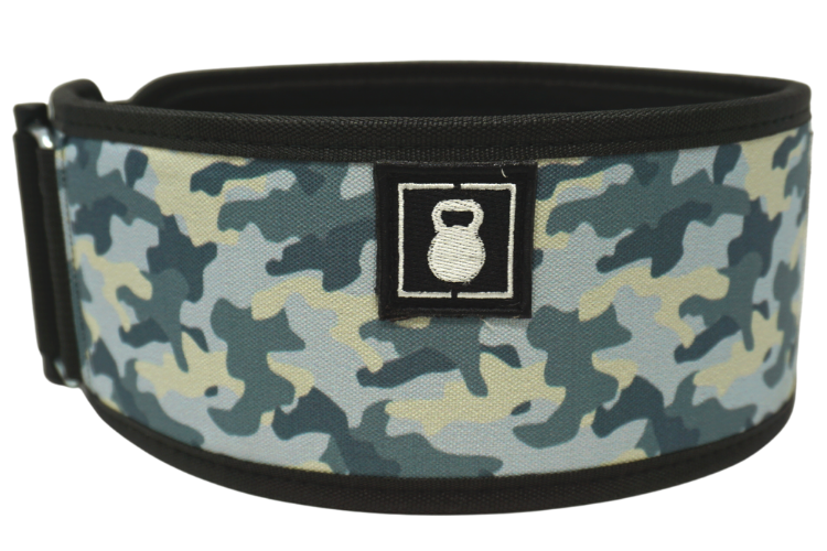 2POOD - Arctic Camo Straight Weightlifting Belt