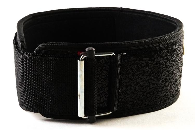 2POOD - Black Magic (sparkle) Straight Weightlifting Belt