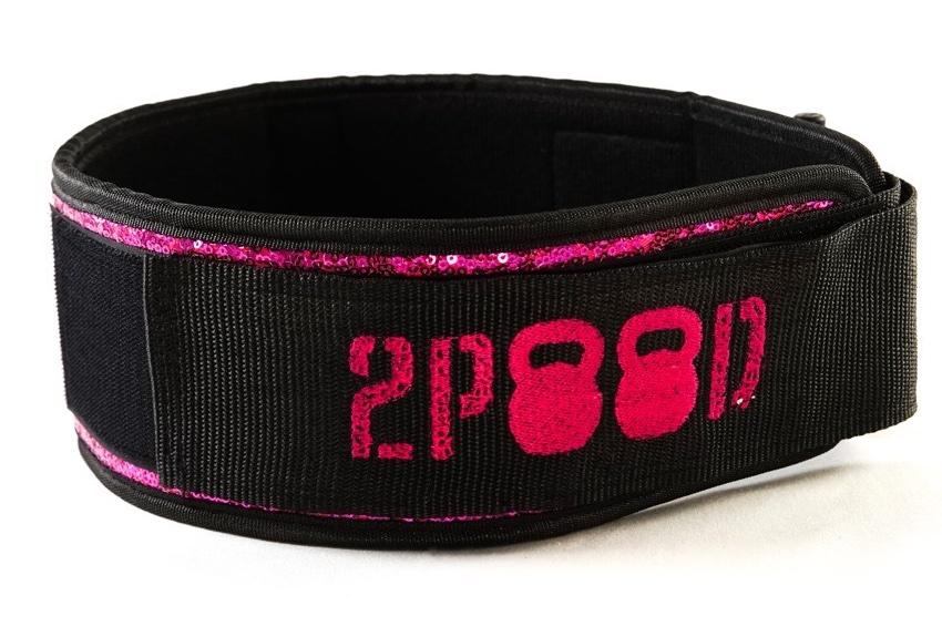2POOD - Bombshell (sparkle) Straight Weightlifting Belt
