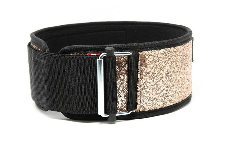 2POOD - Classy Bling Straight Weightlifting Belt