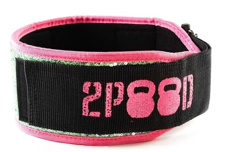 2POOD - Sweet Tart (Sparkle) Straight Weightlifting Belt