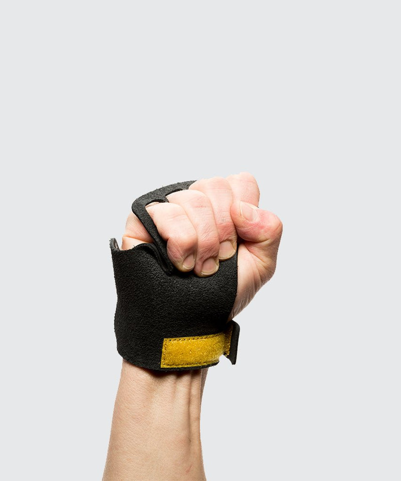 Leather Crossfit  gymnastic Hand Grips 4 finger