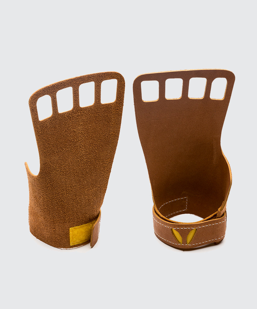 Women's 4-Finger Leather- Tan