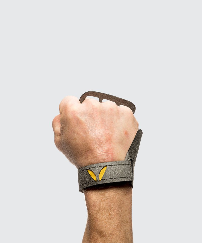 Mens Crossfit hand Grips by Victory Grips 3 finger