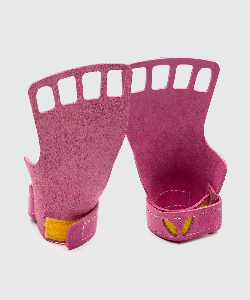 Women's 4-Finger Leather - Pink