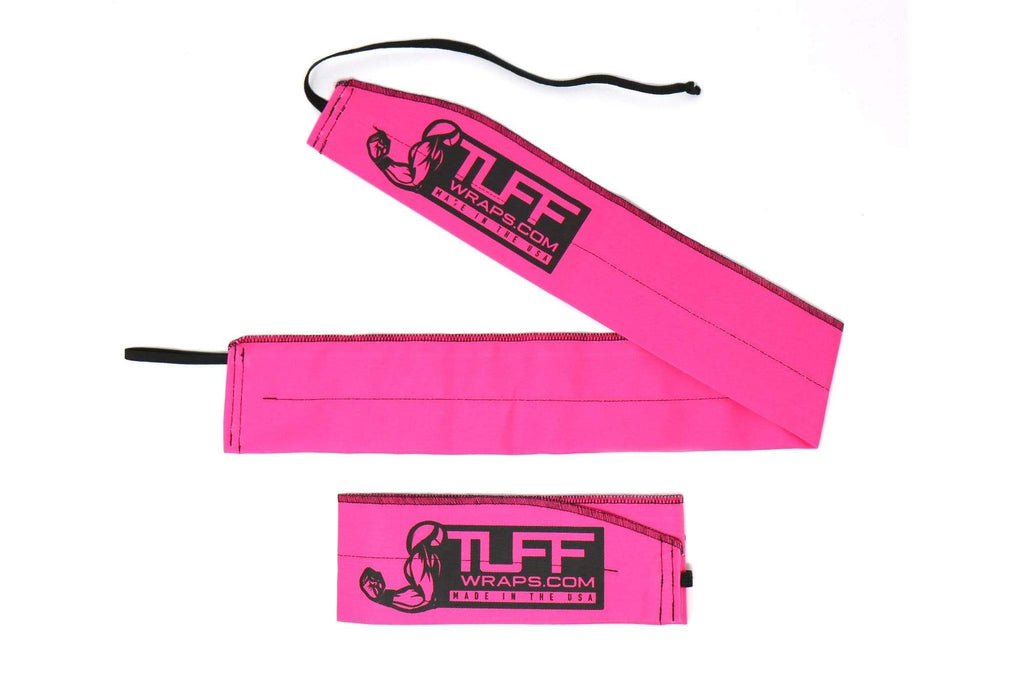 Tuff Warps -  Neon Pink Wrist Wrap Support